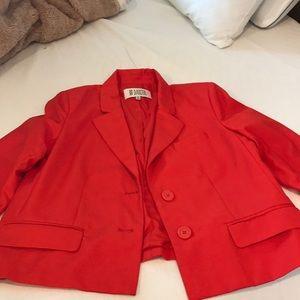 Orange/red blazer